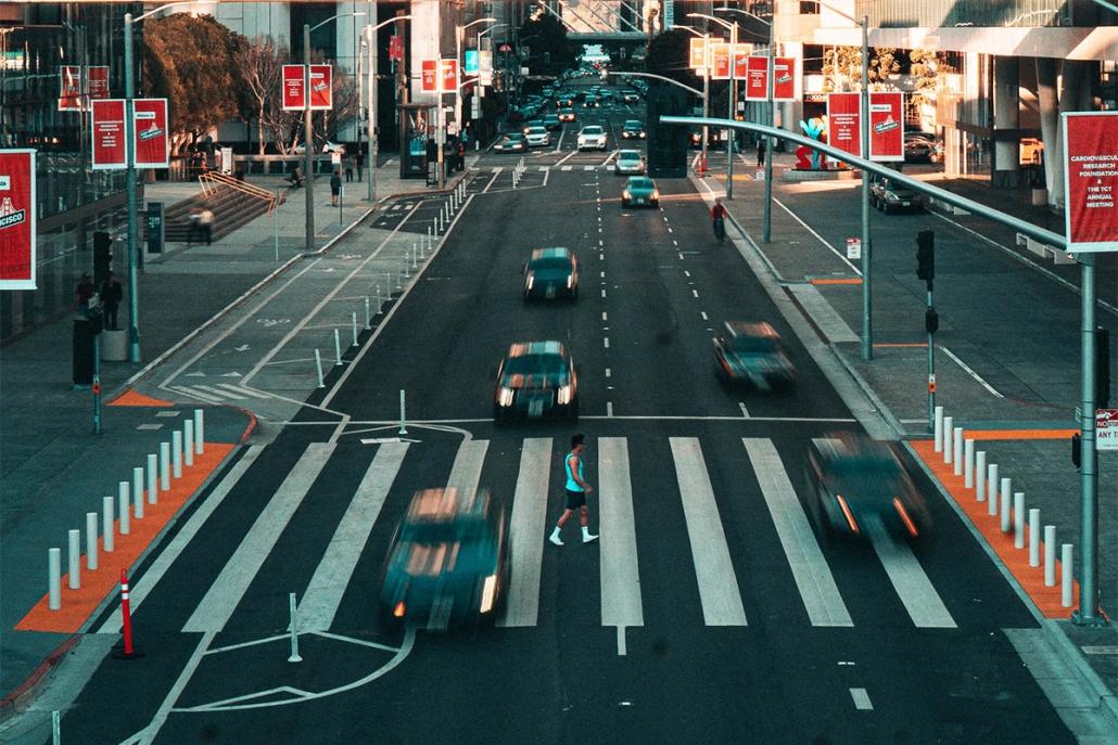 Como recorrer da multa de não dar preferência à pedestre ou veículo não motorizado